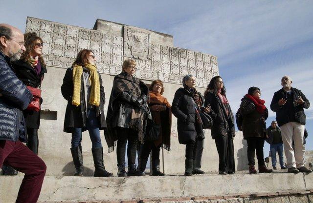 Artistas argentinos: Lucharemos por la libertad de Milagro Sala
