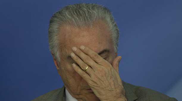 ¿Qué pasará en Brasil si Michel Temer es destituido?