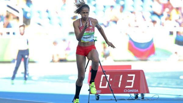 Rojas desplazó a las campeonas de Río 2016 y Londres 2012.