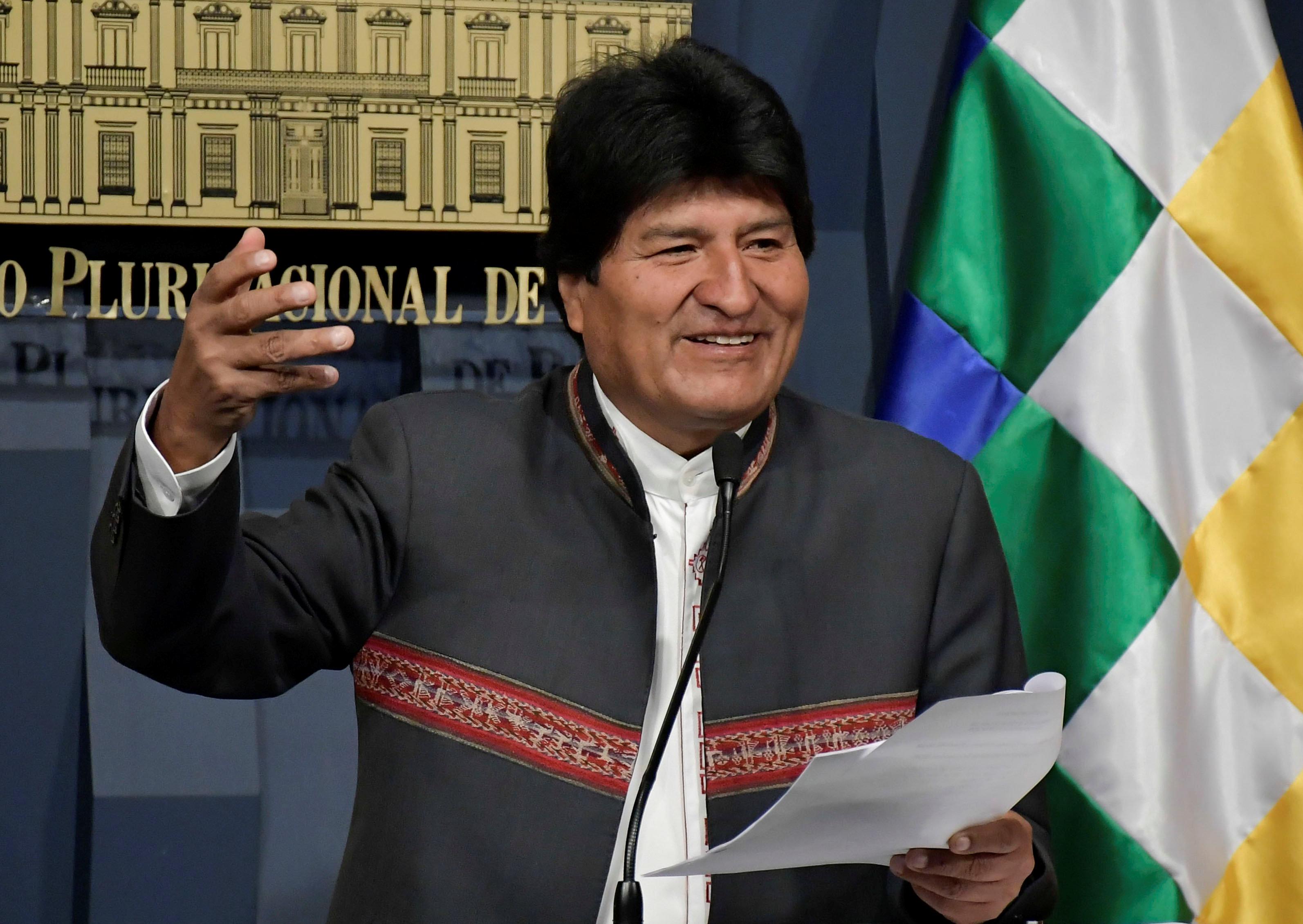 Evo Morales plantea alcanzar cero pobreza extrema en Bolivia