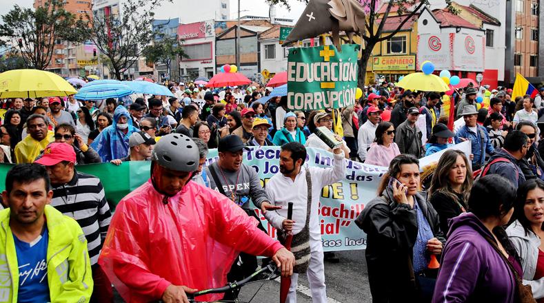La Federación Colombiana de Educadores (Fecode), que agrupa alrededor de 300.000 profesores de colegios públicos del país, convocó varias actividades de protesta a partir de este lunes 12 de junio.