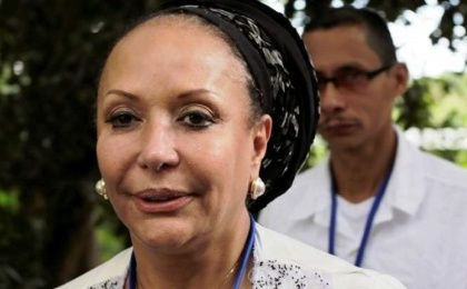 Piedad Cordoba seeks to be the next president of Colombia.