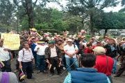 The demonstrators demanded that the Guatemalan government not promote actions against Venezuela.