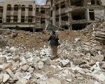 An aggressive U.S. and U.K. backed Saudi bombing campaign since 2015 has destroyed crucial infrastructure in Yemen, leading to a humanitarian crisis.
