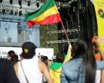 The 17-hour event closes with a final act from reggae artist Ky-Mani Marley, a Jamaica native.