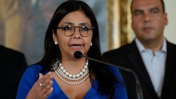 La canciller Delcy Rodríguez destacó que darán la batalla en la Organización de Estados Americanos (OEA).