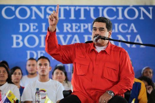El mandatario venezolano rechazó la acción.