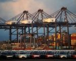 Cars and containers are seen in the port of Lazaro Cardenas November 20, 2013.