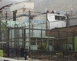 The Lurigancho prison near Lima, Peru where hundreds of rebels were killed.