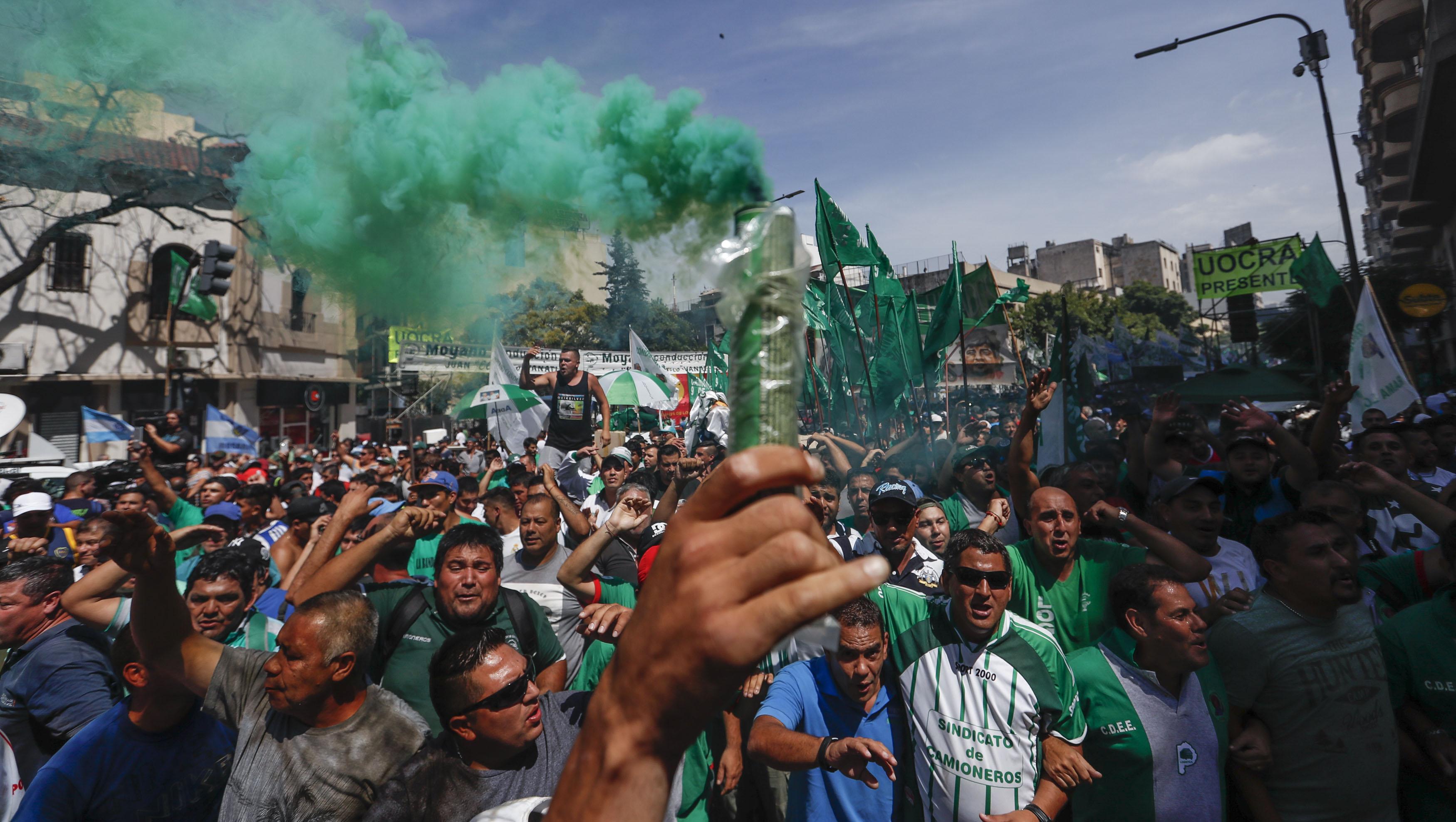 Central argentina volverá a movilizarse por mejoras salariales