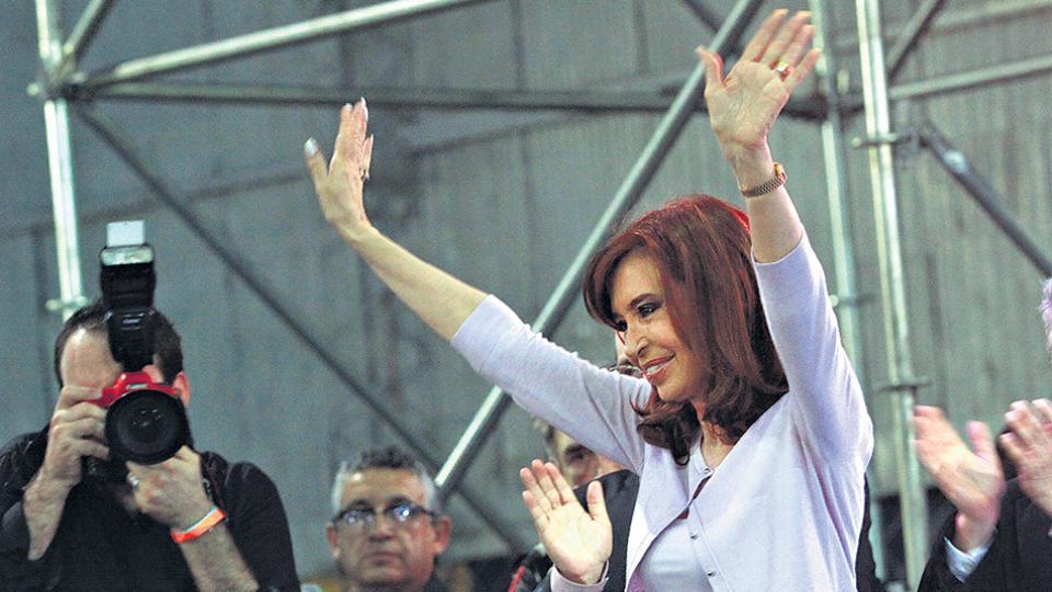 CFK lanza hoy frente Unidad Ciudadana para legislativas