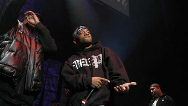 Prodigy at the J.A.M. Awards concert to benefit the late hip hop icon Jam Master Jay