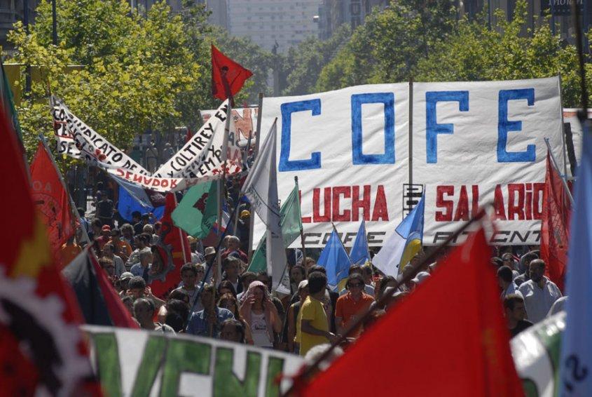 Trabajadores uruguayos van a paro.