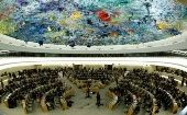 United Nations Human Rights Council meets in Geneva, Switzerland, June 6, 2017.