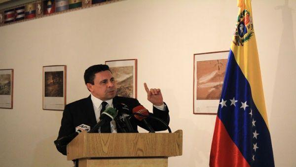 Moncada es embajador de Venezuela ante el Consejo Permanente de la OEA.