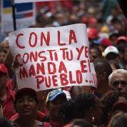 Poder al pueblo venezolano.