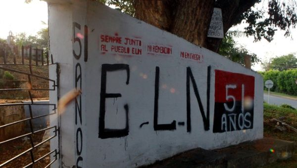 The ELN is the last group of combatants active in Colombian territory since the signing of the Peace Agreements in Havana