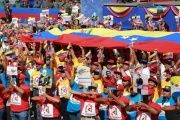 Venezuelans around the country join together to celebrate the country's independence from Spain with festivals and marches.
