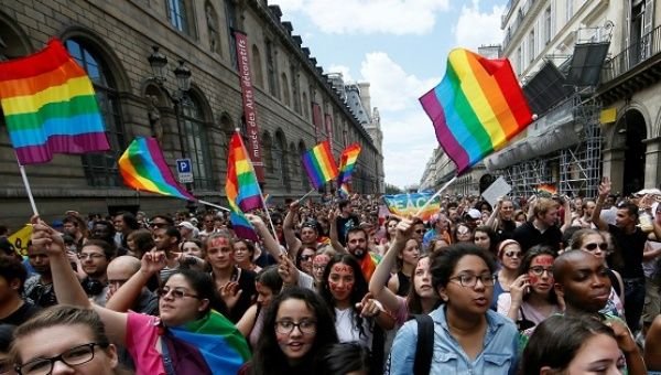 de la gay pride de France: 19 marches de la