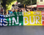 Activists come out for Istanbul Pride despite ban.