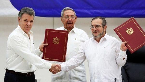 A Timeline Of Colombias Peace Process News Telesur English