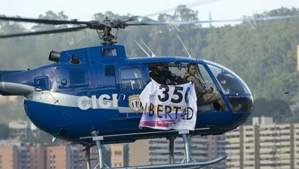 Oscar Alberto Perez has been identified as the pilot who stole the helicopter.