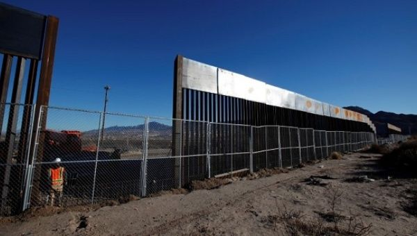Image result for border wall prototype