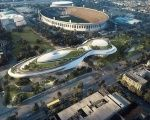 The billion dollar museum will include state-of-the-art cinematic theaters, digital classrooms and video conference rooms.