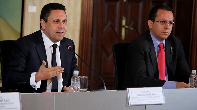 El titular de Relaciones Exteriores repudió la falta de solidaridad de otros países con Venezuela.