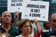 Journalists in Turkey have been historically tried for reporting the facts during successive military regimes including that of Erdogan's AKP government.