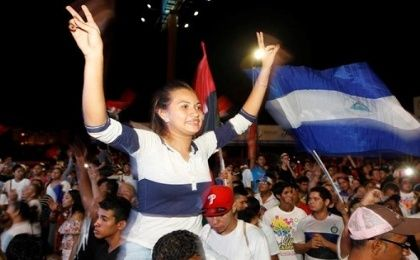 Supporters of Nicaragua