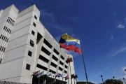Venezuela's Supreme Court building which was targeted in this week's attacks.