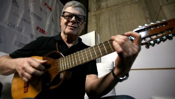 Winner of 15 Latin Grammy Awards, a Bafta Award, a Golden Globe and two Oscars, musician Gustavo Santaolalla will kick off this year