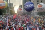 Thousands Protest in Brazil Against Temer's Labor Reforms