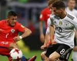 Chile and Germany drew 1-1 on June 22 during the group stage of the competition.