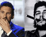 Soccer player Lionel Messi lost the popularity batlle against revolutionary leader Ernesto Che Guevara