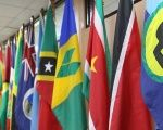 Caribbean Community flags.