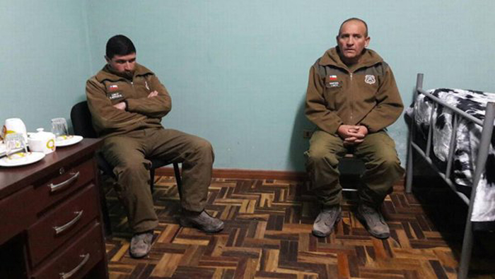 El Gobierno que preside Evo Morales garantizó sus derechos y otorgó plenas garantías a los carabineros chilenos detenidos en la frontera por las autoridades bolivianas.