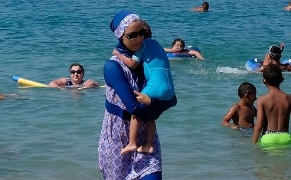 The burkini was originally designed on behalf of the Australian government.