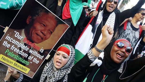 Thousands of South Africans protested in Durban against Israel