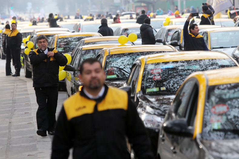 Angry taxi drivers launched today