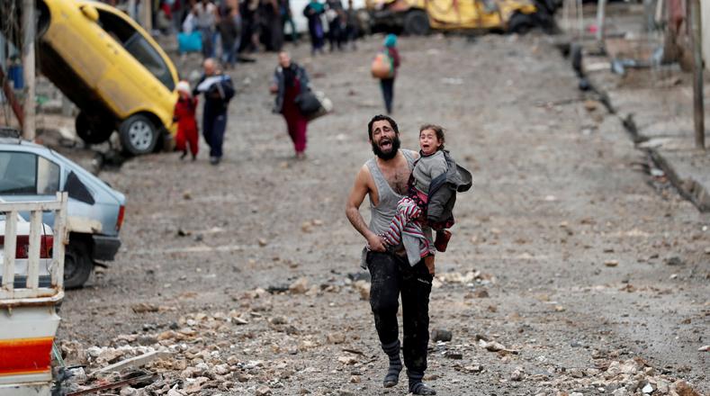 De acuerdo con datos de la Organización de las Naciones Unidas (ONU), la liberación de Mosul provocó 80.000 muertos y heridos, y el desplazamiento de casi 900.000 personas.