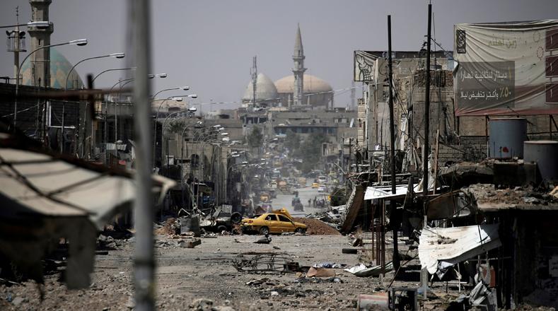 La ONU considera que la reconstrucción de la ciudad iraquí costará más de 1.000 millones de dólares.