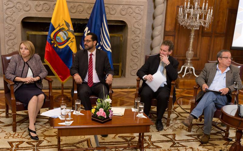 Ecuador es calificado líder mundial por trabajo con refugiados