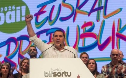 General Secretary of Sortu, Arnaldo Otegi Mondragon.