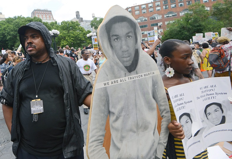 Trayvon Martin was killed in Florida on February 26, 2012 by George Zimmerman. On July 13, 2013 Zimmerman was acquitted of his killing; the verdict became the defacto genesis of the Black Lives Matter Movement