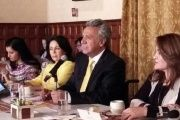President Lenin Moreno met on Tuesday with about 50 representatives of women's groups.
