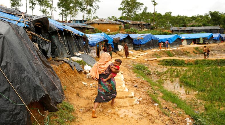 Los rohingya, que se encuentran asentados en Bangladesh, sobre todo en el distrito de Cox