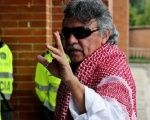 Santrich was in intensive care at the Shaio clinic in Bogota.