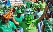 "An earlier ""Green March"" against impunity in the Dominican Republic."